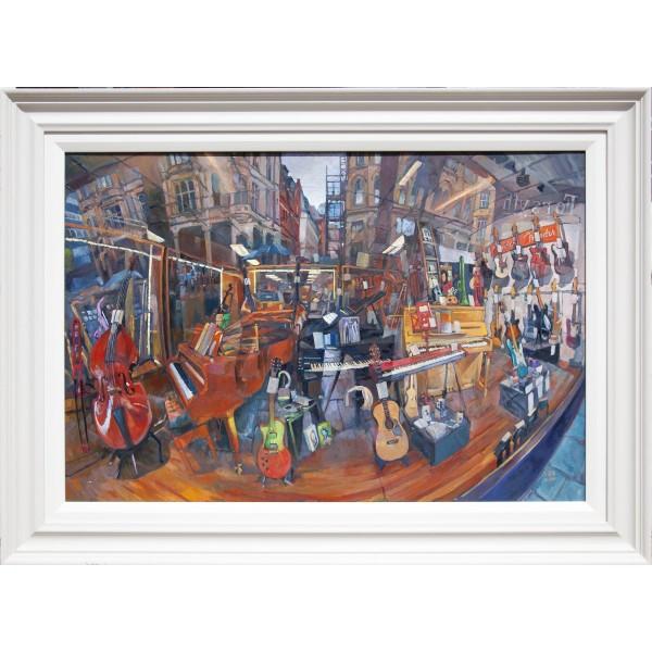 Framed Forsyth on Canvas (frame not included)