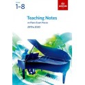 ABRSM Teaching Notes on Piano Exam Pieces 2019 & 2020, Grades 1-8