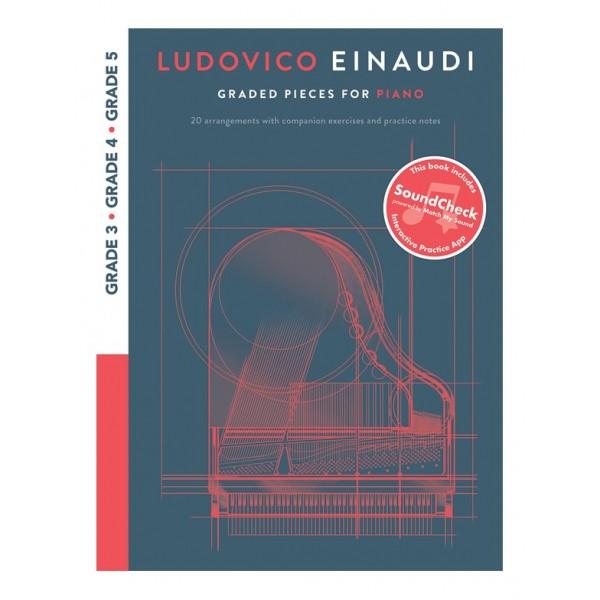 Ludovico Einaudi Draded Pieces For Piano Grades 3 -5