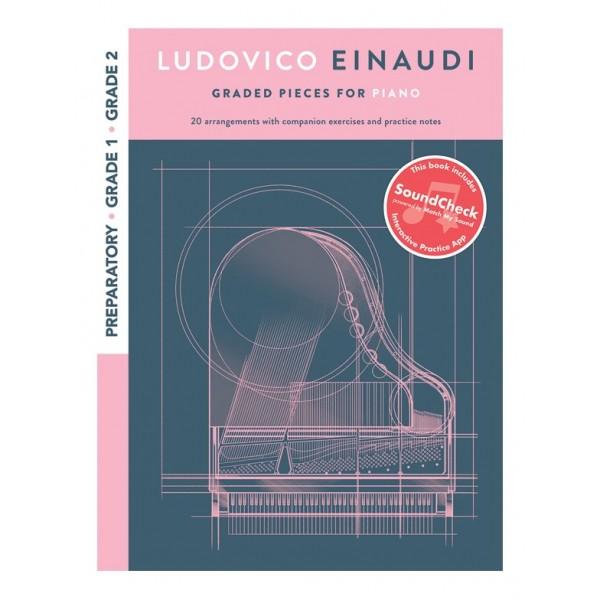Ludovico Einaudi Draded Pieces For Piano Grades 1-2