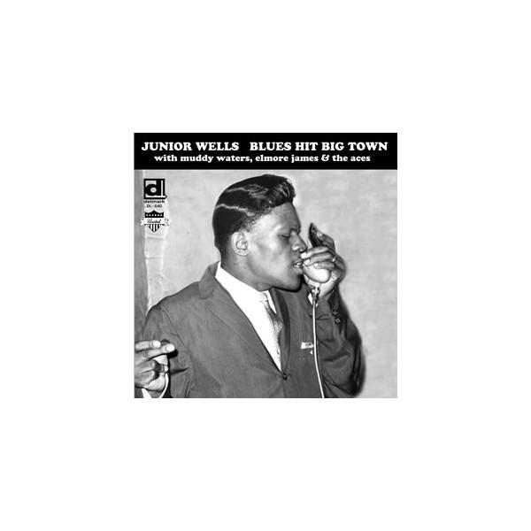 Wells, Junior - Blues Hit Big Town (LP)