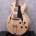 """Eastman AR372CE Blonde 16"""" w/ Cutaway Electric Guitar"""