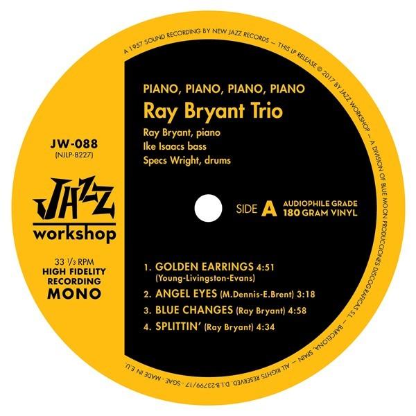 Ray Bryant Trio - Piano Piano Piano Piano (LP)