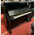 Schimmel K132 upright piano in black polyester