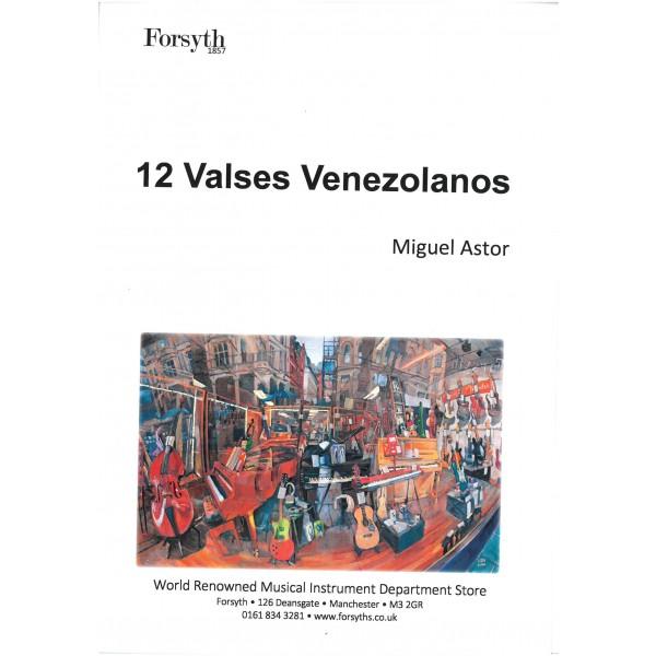 Astor, Miguel - 12 Valses Venezolanos