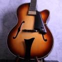 Hofner New President Archtop Jazz Guitar - Sunburst