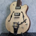 Hofner Gold Label Thin President Guitar - Striped Poplar