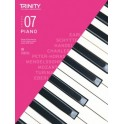 Trinity Piano Exam Pieces 2018–2020, Grade 7 (Seven), with CD