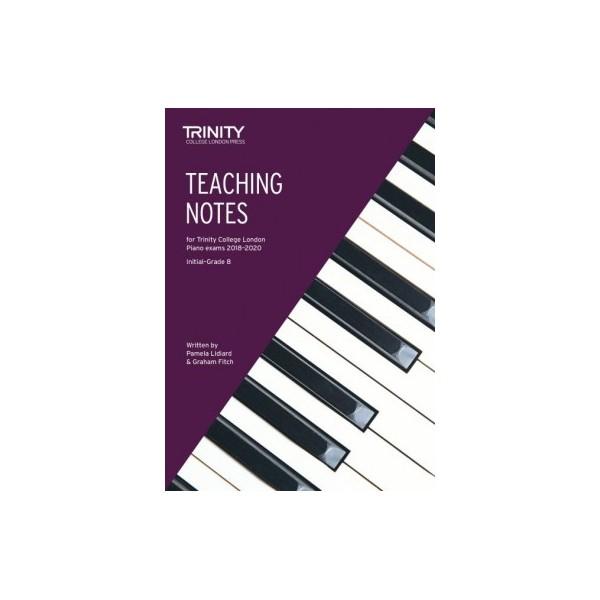 Trinity Teaching Notes for Piano Exam Pieces 2018-2020, Initial - Grade 8