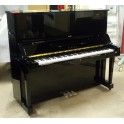 SOLD Yamaha U3X Upright Piano in Black Polyester (Reconditioned)