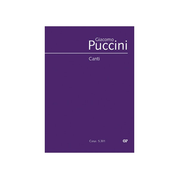 Puccini - Songs (Voice & Piano)