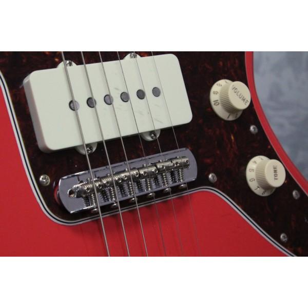 Fender 60th Anniversary Jazzmaster Fiesta Red
