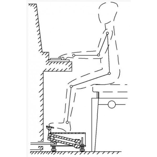 Pedal Extension for Piano by Hidrau