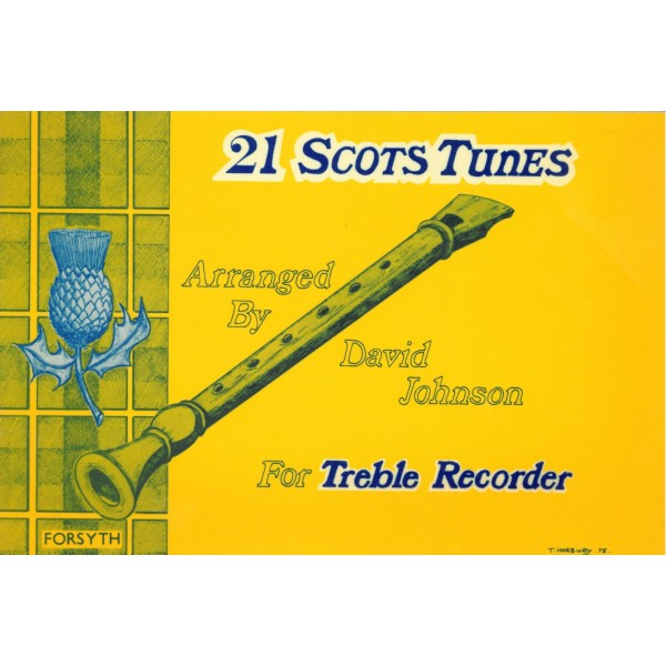 Twenty-one Scots Tunes - Thomson, James