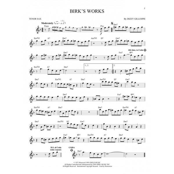 Jazz Blues Favorites (Tenor Saxophone)