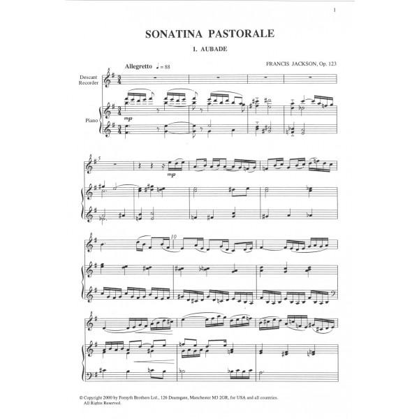 Sonatina Pastorale Op.123 - Jackson, Francis