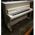 Yamaha P116N Upright Piano in White Polyester (Pre-owned)