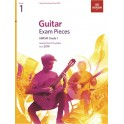 ABRSM Guitar Exam Pieces from 2019, Grade 1 (One)