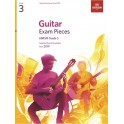 ABRSM Guitar Exam Pieces from 2019, Grade 3 (Three)