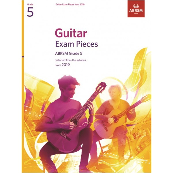 ABRSM Guitar Exam Pieces from 2019, Grade 5 (Five)