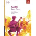 ABRSM Guitar Exam Pieces from 2019, Grade 1 (One) with CD