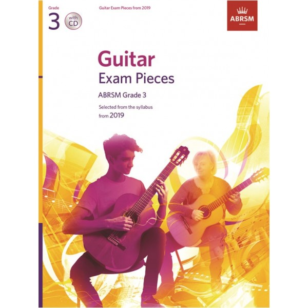 ABRSM Guitar Exam Pieces from 2019, Grade 3 (Three) with CD