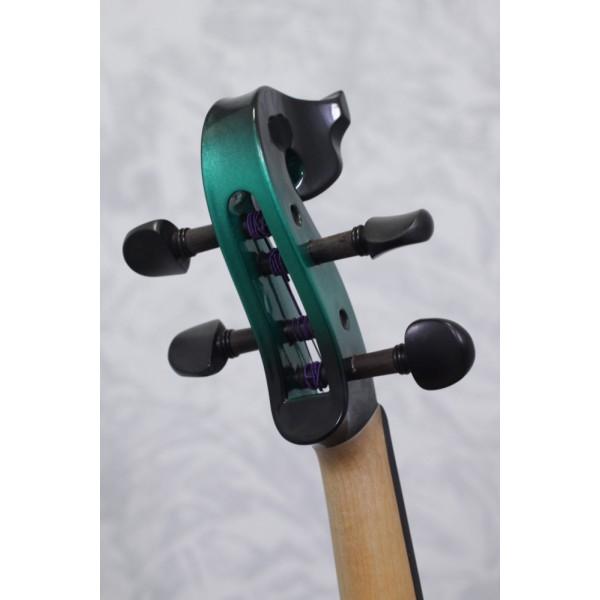 Bridge Aquila EV4 Electric Violin in black/green