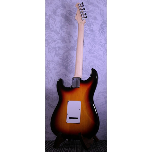 Aria STG0003 Strat Style Electric Guitar Sunburst