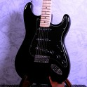Aria STG003 Strat Style Electric Guitar Black