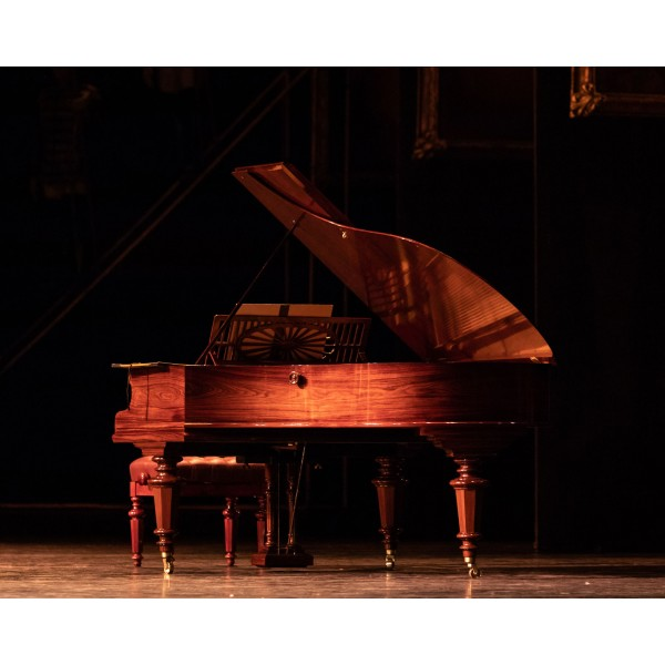 Bechstein Model A in Rosewood French Polish - full restored - on stage at the Royal Opera House