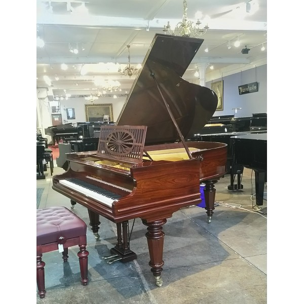 Bechstein Model A in Rosewood French Polish - full restored at Forsyth