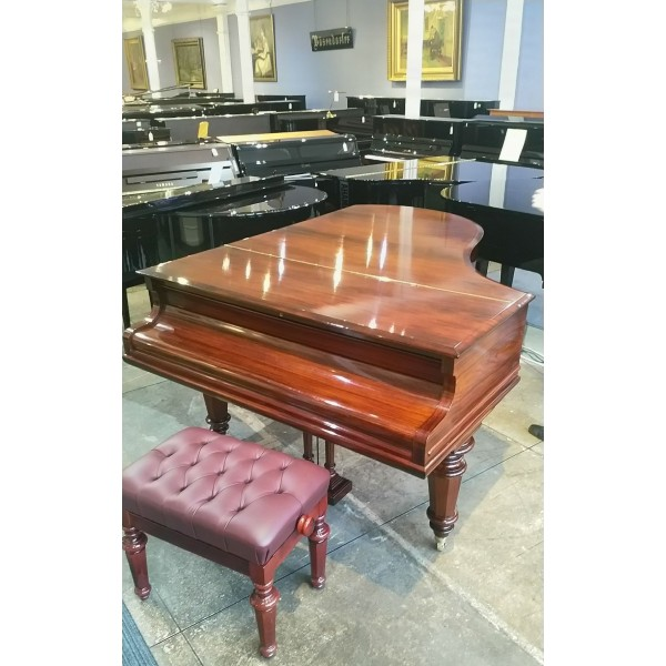 Bechstein Model A in Rosewood French Polish - full restored at Forsyth - closed lid