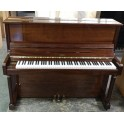 Challen Upright Piano in Mahogany Polyester (Pre-owned)