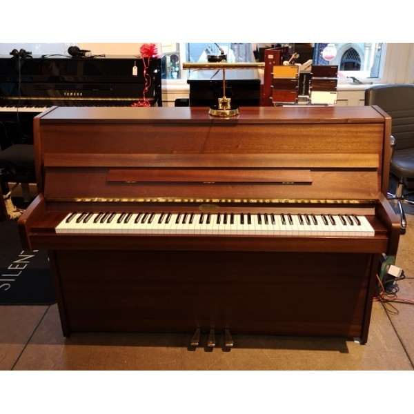 Kemble Cambridge 10 Upright Piano in Walnut-stained Mahogany Satin (Pre-owned)