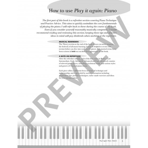 Spanswick, Melanie - Play it again: Piano, Book 1