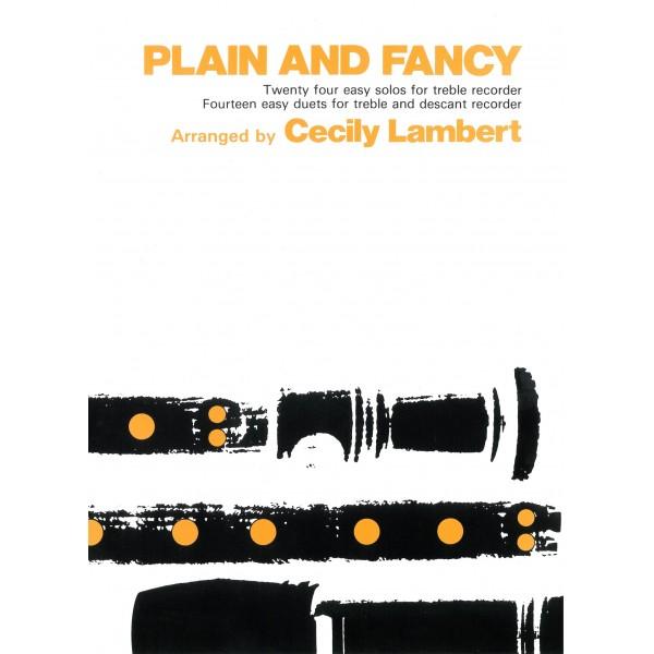 Plain and Fancy - Lambert, Cecily