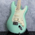 Fender American Performer Stratocaster in Satin Surf Green HSS
