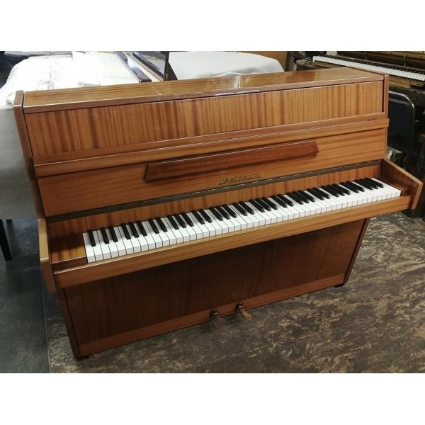 Zimmermann upright piano in mahogany satin (pre-owned)