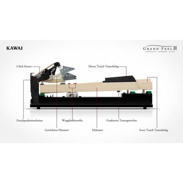 Kawai CA-78 Satin Black