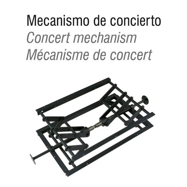 Hidrau Concert Stool - London BC46 mechanism