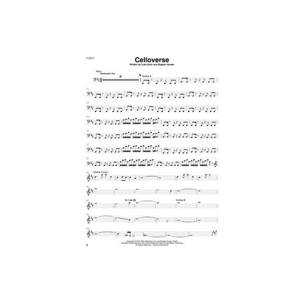 2 Cellos - Sheet Music Collection