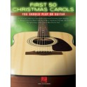 First 50 Christmas Carols You Should Play on Guitar
