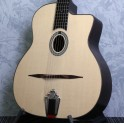 Eastman DM1 Natural Gypsy Jazz Guitar