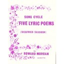 Morgan, Howard - Five Lyric Poems (Siegfried Sassoon)