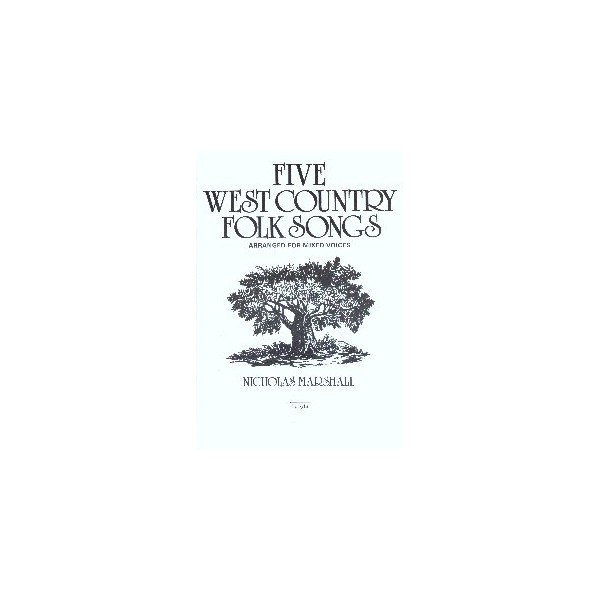 Five West Country Folk Tunes - Marshall, Nicholas