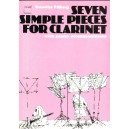 Seven Simple Pieces for Clarinet - Pilling, Dorothy