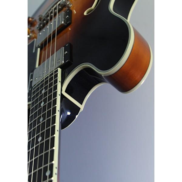 Eastman T386 Sunburst Thinline Semi-Acoustic
