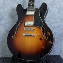 Eastman T386 Sunburst Thinline Semi-Acoustic