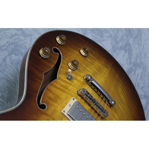 Eastman T185MX Goldburst Thinline Semi-Acoustic