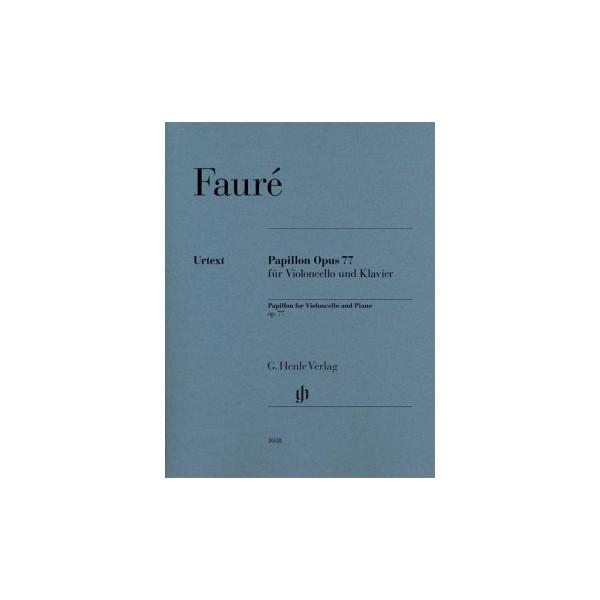 Fauré, Gabriel - Papillon